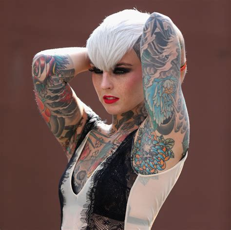 tattooed models gallery the international convention 2013