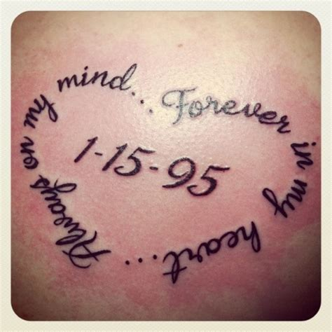 Tattoo Quotes In Memory Of Dad | 40 mom tattoos to ink in honor of mom inked weddings