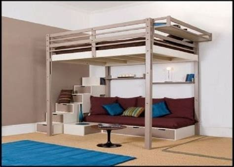 adult bed best 25 queen loft beds ideas on pinterest