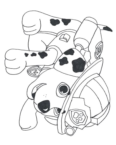 printable coloring pages paw patrol coloring pages birthday printable