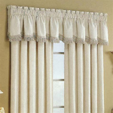 Houzz Kitchen Curtains United Curtain Hercules Matelasse Valance Modern Curtains By Hayneedle