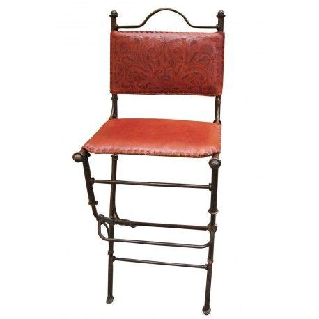 Rustic Mexican Bar Stools by Mexican Iron And Leather Rustic Bar Stool Rustic