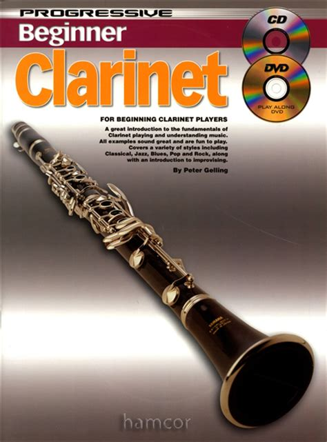 progressive beginner clarinet learn how to play tutor