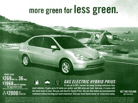 Toyota Hybrid Advert S Stuff Toyota Prius Advertisement Scans 2