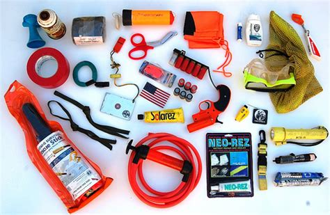 boat emergency kit boating and pwc emergency on board equipment and gear