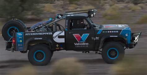 baja truck valvoline and cummins build a truck for baja