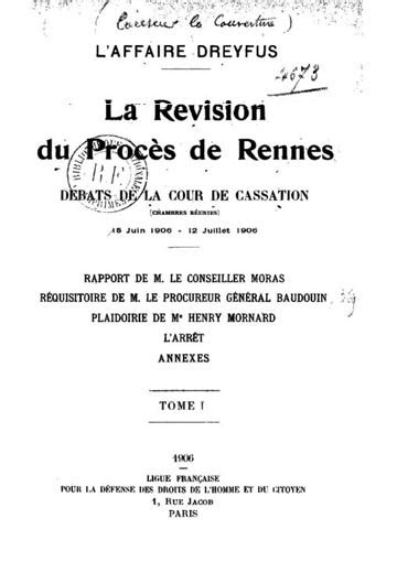 l affaire dreyfus revision du proces de rennes debats de la cour de cassation audiences des 3 4 et 5 mars 1904 classic reprint edition books le syst 232 me bertillon affaire dreyfus