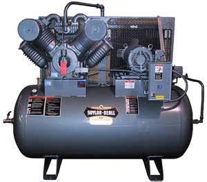 saylor beall 92020 tank mounted horizontal air compressor nhproequip