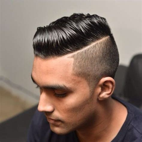 hair parting comes forward hard part undercut comb over with great hair comes
