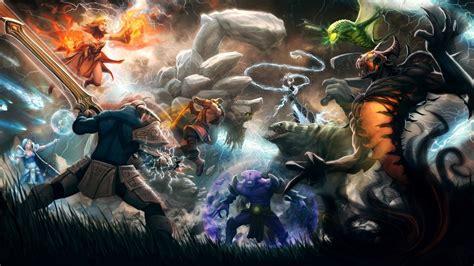 dota 2 heroes wallpaper with names dota 2 wallpaper 22938 1920x1080 px hdwallsource com