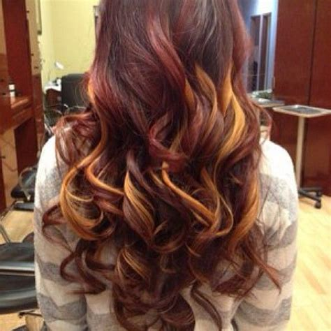 red hair highlights and lowlights highlights and lowlights for red hair dark brown hairs
