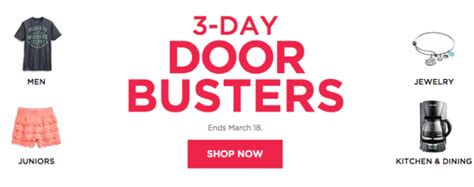Door Busters by 3 Day Doorbuster Event At Kohl S Nerdwallet
