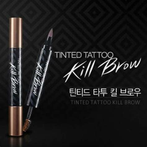 Tinted Kill Brow 2in1 Tato Alis Dan Maskara tinted kill brow 2 in 1 tato alis dan
