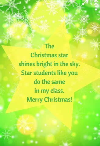 christmas messages  teachers  students christmas card  teacher christmas card