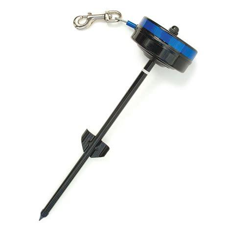 retractable cable tie out lixit corporation 8401