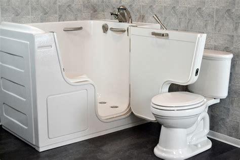 slide in bathtub the safety benefits of walk in tubs seniortubs com