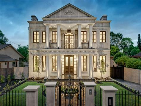 Floor Plans For 1 Story Homes Stately Home In Victoria Australia Homes Of The Rich