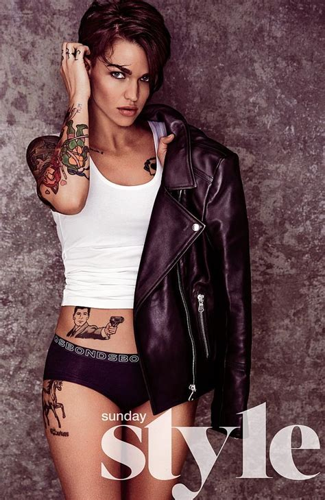 new tattoo under shirt miranda kerr ruby rose and rachael taylor strip to undies