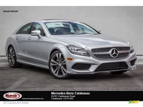 silver mercedes 2016 iridium silver metallic mercedes cls 400 coupe