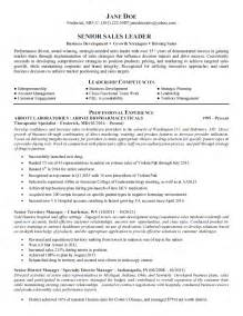 pharmaceutical resume sles pharmaceutical sales manager resume