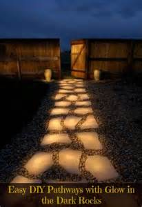 glow in the rocks glowing pathway rocks tutorial