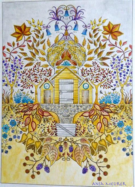 secret garden colouring book postcards picture from johanna basford secret garden postcards