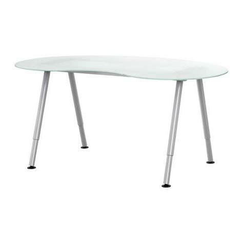 scrivania ikea vetro tavoli ikea in vetro foto design mag