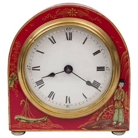Desk Clocks For Sale by Chinoiserie Desk Clock For Sale At 1stdibs