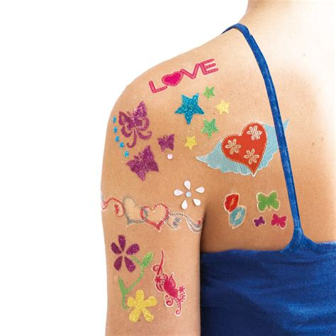 glitter tattoos kits glitter kit galt toys