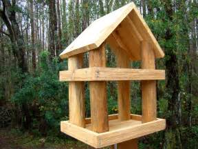 Rustic Bird Feeders Large Rustic Wood Platform Bird Feeder Has 2 Levels Use As A