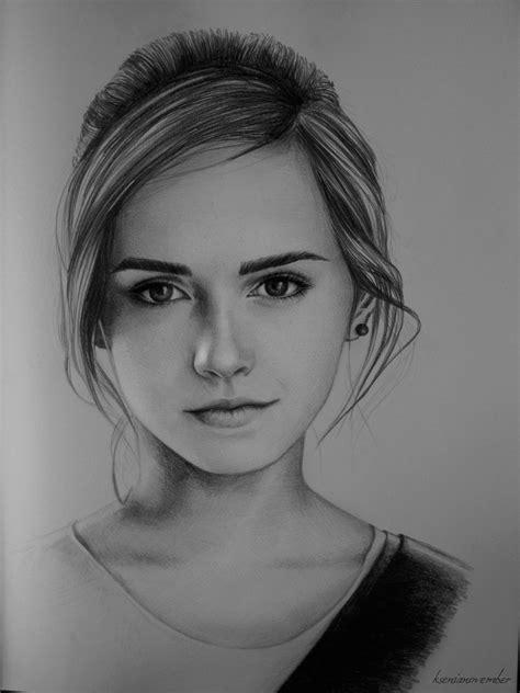 emma watson drawing emma watson portrait by ksenianovember on deviantart