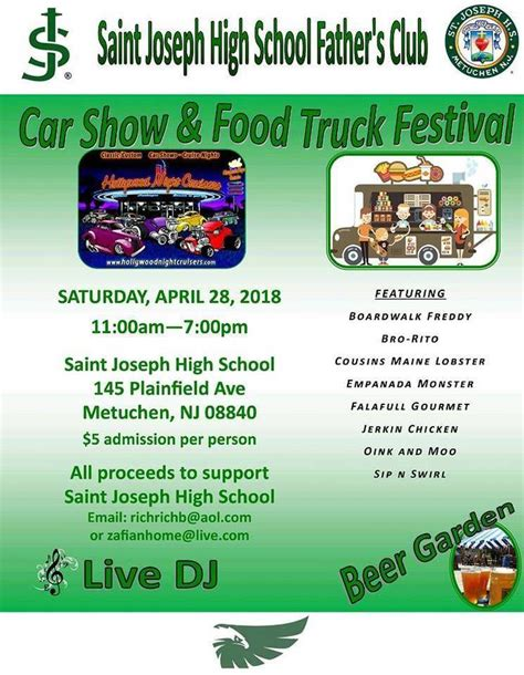 jerkin chicken food truck saint joseph high school to host car show and food truck