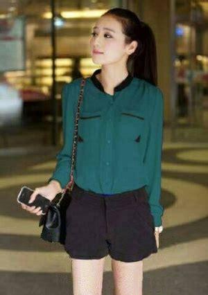 Hem Kerja by Model Baju Hem Kemeja Kerja Wanita Lengan Panjang Modern