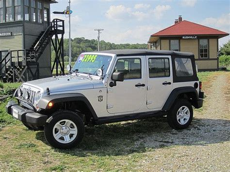 2008 4 Door Jeep Wrangler Purchase Used 2008 Jeep Wrangler Unlimited X Sport Utility