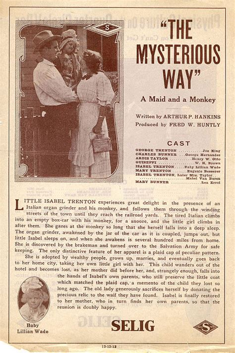 Are You The Mysterious Type by File Release Flier For The Mysterious Way 1913 Jpg