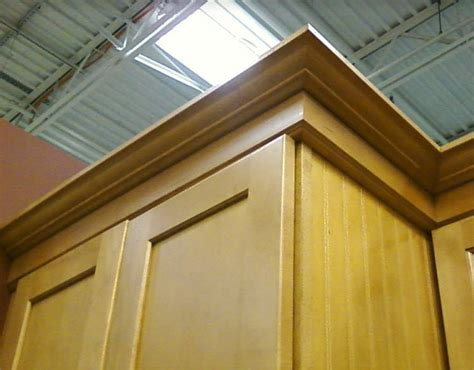 How To Install Crown Molding On Kitchen Cabinets Video by Attaching Trim To A Cabinet Top