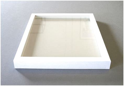 large shadow large box and white and how to use white shadow box frame