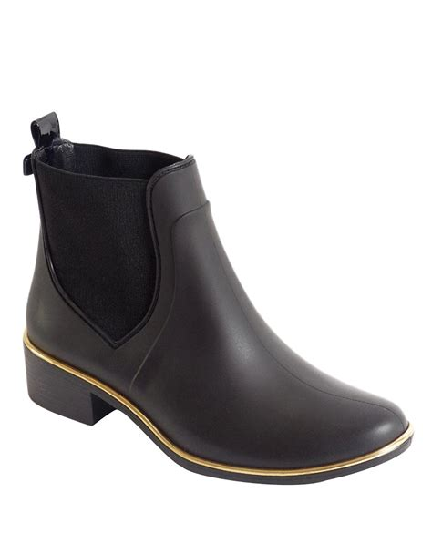 kate spade boots kate spade new york sedgewick rubber boots in black