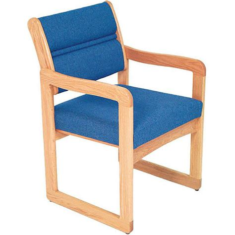 Chair With Arms by Sled Base Chair With Arms From Dakota Wave Office Zone 174