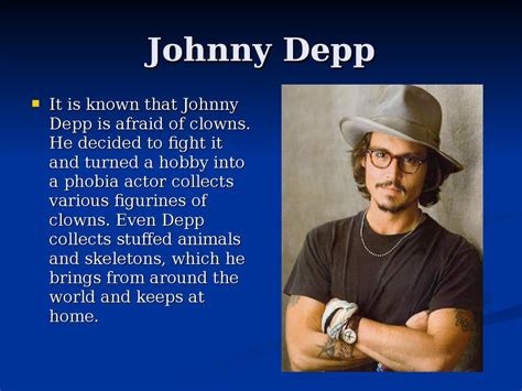 johnny depp biography simple english hobbies famous people презентация онлайн