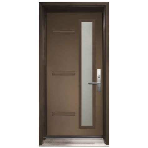 Single Entry Door Oso Model With Glass From Classic Single Exterior Door