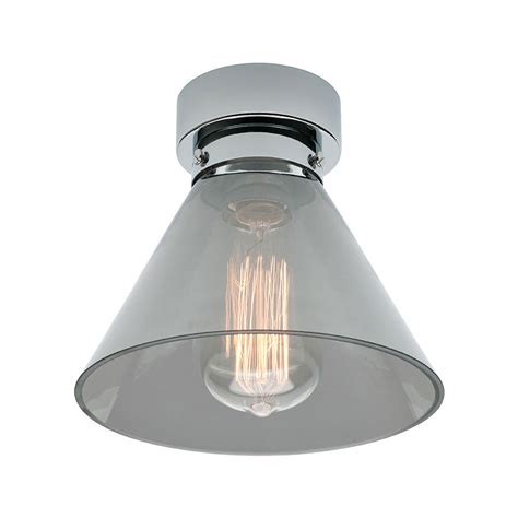 batten light shade gwen diy batten fix shade smoke ma9371smk lighting