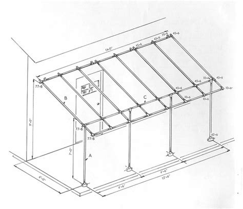 How To Build An Awning by Awning Frame