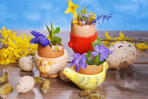 Osterdeko Mit Blumen by Osterdeko Basteln Selber Machen Aus Naturmaterialien