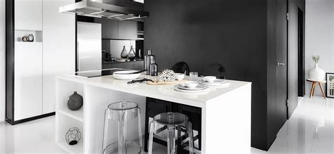 inspired   chic black  white hdb flat squarerooms
