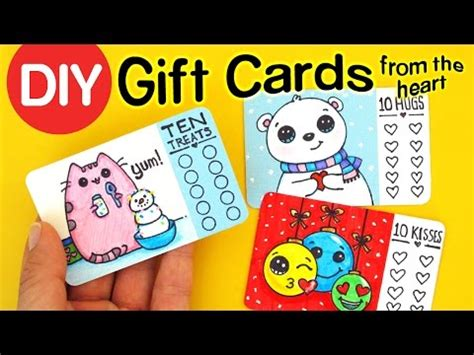 how to make a gift card diy how to make gift cards from the