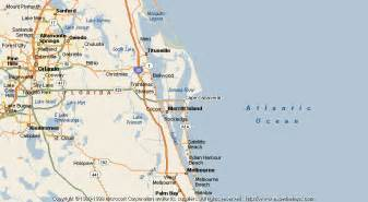 map of cape canaveral