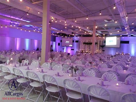 Allcargos Tent Event Rentals Inc Cafeteria Wedding