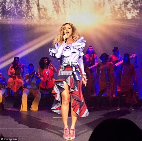beyonce puts on a surprise show at company holiday bash