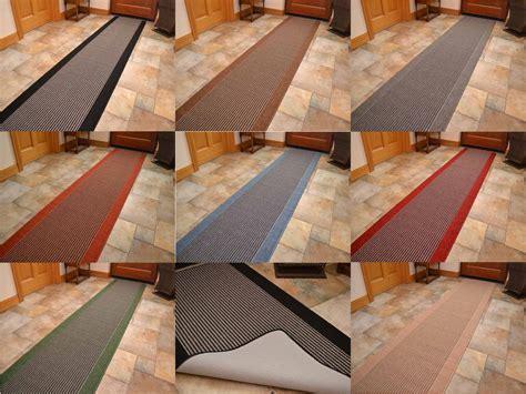 Washable Runner Non Slip Grey Brown Black Kitchen Door Mat